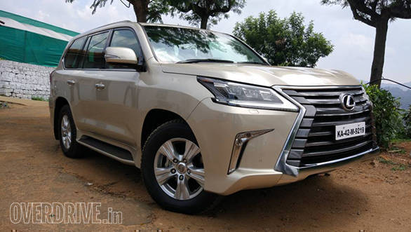 Image gallery: Lexus LX 450d first drive review