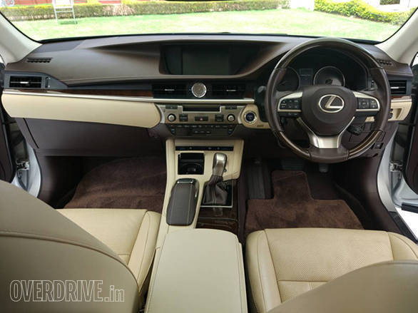 Beautifully crafted interior is comfortable and has a good spread of features