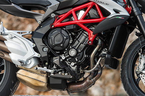 The MV engine sees a substantial revision and it makes the bike smoother as well as easier to ride. The motor gets a slipper clutch and a quickshifter as standard