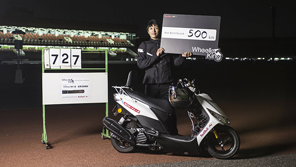 Video worth watching: Masaru Abe holds wheelie for 500km