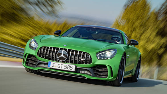 Mercedes-AMG GT R and Roadster to be launched in India on August 21, 2017