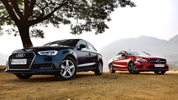 Comparison: Audi A3 TFSI vs Mercedes-Benz CLA 200