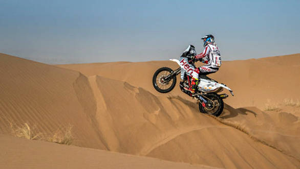 Merzouga Rally 2017: Hero MotoSports Team Rally's Joaquim Rodrigues at fifth after Stage 1