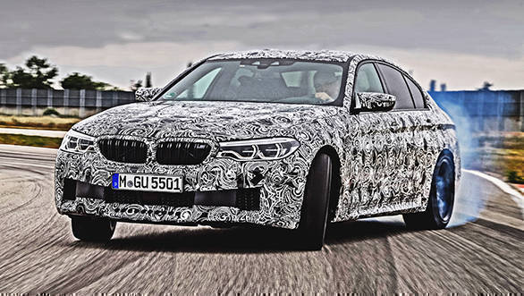 New-gen BMW M5 xDrive is here, almost!