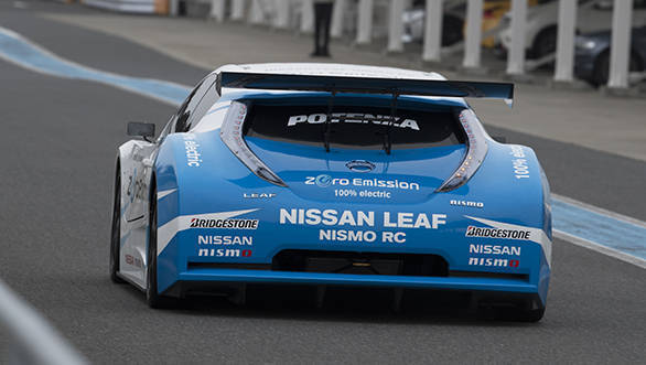 Nissan Intelligent Power_LEAF NISMO RC3