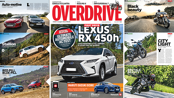 The June 2017 issue of OVERDRIVE is now out on stands!