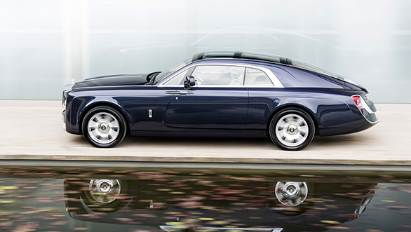 The Rolls-Royce Sweptail is as exclusive as it gets