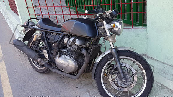 Royal Enfield Continental GT (Interceptor) 750 likely to debut on November 7 at EICMA