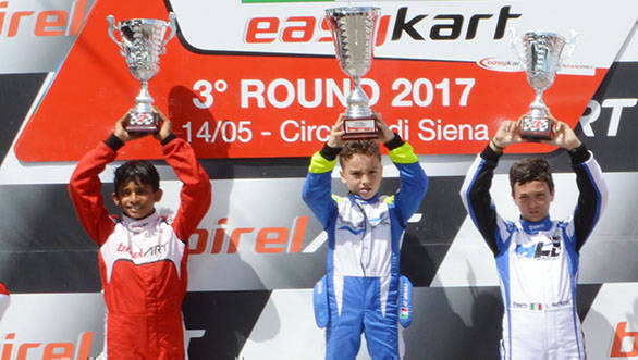2017 Easykart Championship: Ruhaan Alva finishes second in Round 3