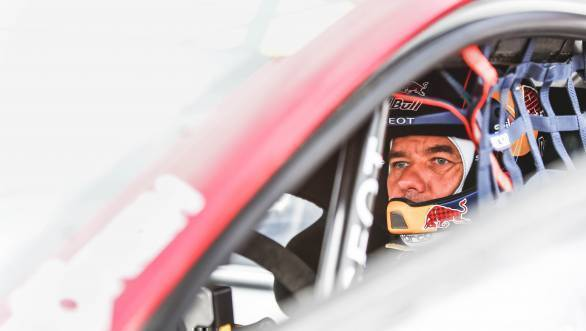 Loeb takes early lead at Hockenheim
