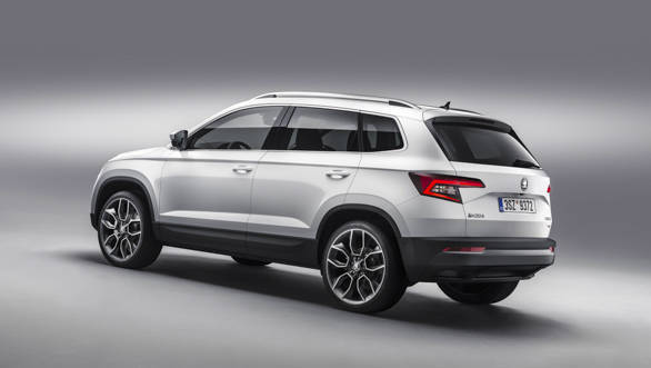skoda karoq suv to compete with the hyundai tucson and volkswagen tiguan in india overdrive. Black Bedroom Furniture Sets. Home Design Ideas