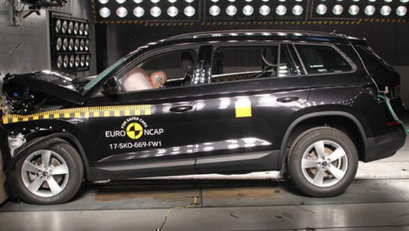EuroNCAP hands Skoda Kodiaq five stars, Suzuki Swift gets three stars