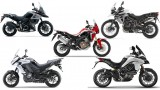 Spec comparison: Honda Africa Twin vs Ducati Multistrada 950 vs Kawasaki Versys 1000 vs Triumph Tiger 800 XCA vs Suzuki V-Strom 1000