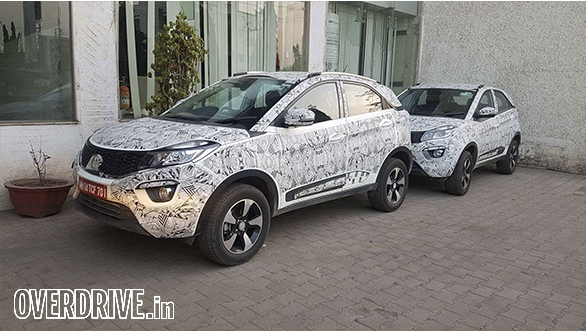Spied: Production-ready Tata Nexon interior