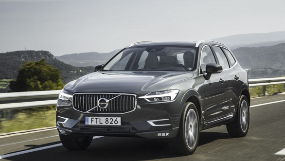 New Volvo XC60  exterior action