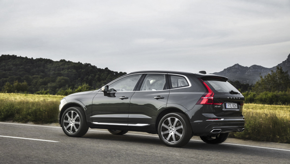 New Volvo XC60 rear 3/4 exterior