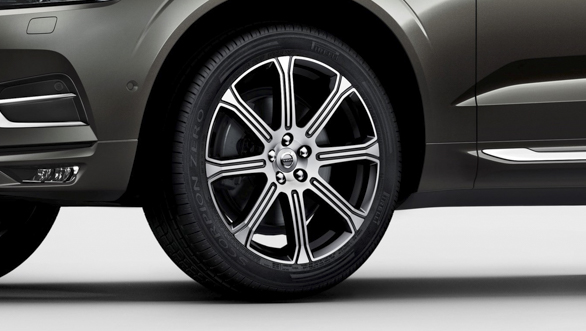The new Volvo XC60 wheel detail