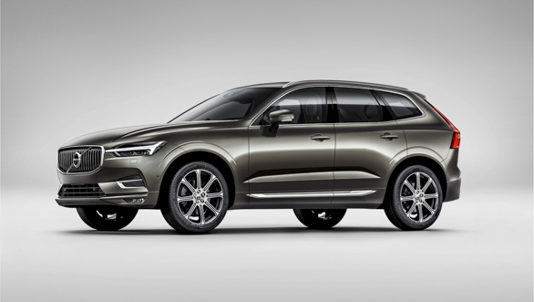 The new Volvo XC60 front 3/4 Studio