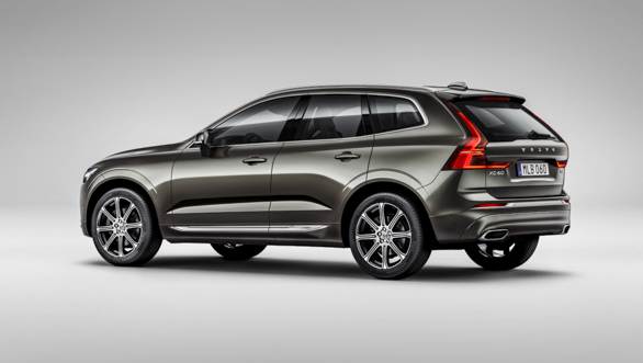 The new Volvo XC60 sudio rear 3/4