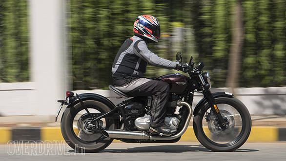 2017 Triumph Bobber Road Test Review Overdrive