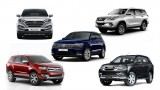 Spec comparison: Volkswagen Tiguan vs Hyundai Tucson vs Isuzu MU-X vs Ford Endeavour vs Toyota Fortuner