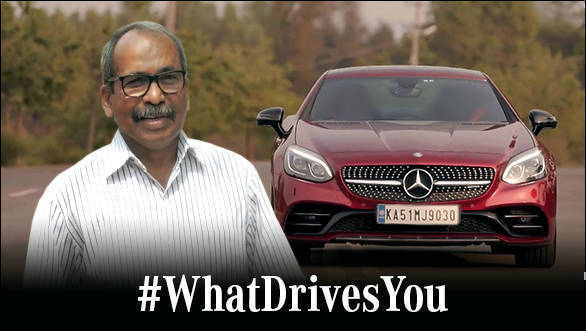 Advertorial: From unreserved train trips to owning a Mercedes-Benz -  Capt. Unni Krishnan shares his story #WhatDrivesYou