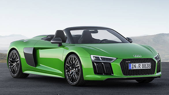 2017 Audi R8 Spyder V10 Plus unveiled
