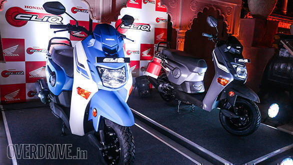 The Honda Cliq looks very distinct than what we get in the Indian scooter market