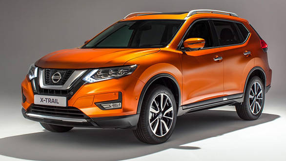 India-bound 2017 Nissan X-Trail facelift revealed