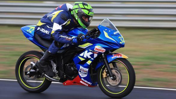 Sachin Choudhary at the Road To Rookies Cup in Chennai, India on August 10, 2016