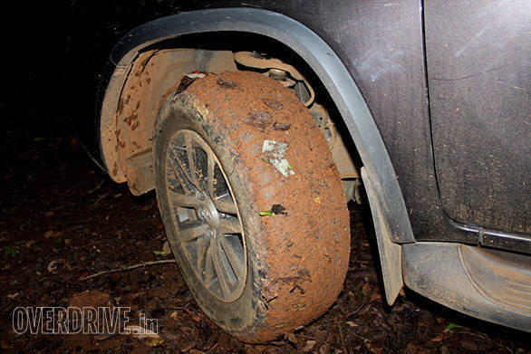 The street tyres would soon get covered with mud, leaves and what have you