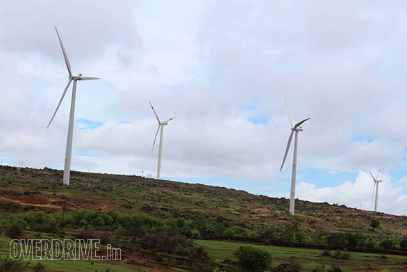 There are also many wind farms in this region