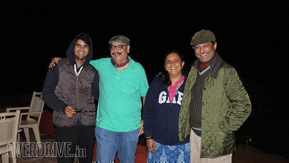 Bob with Aaryamaan, Gauri and Ruturaj Ingle