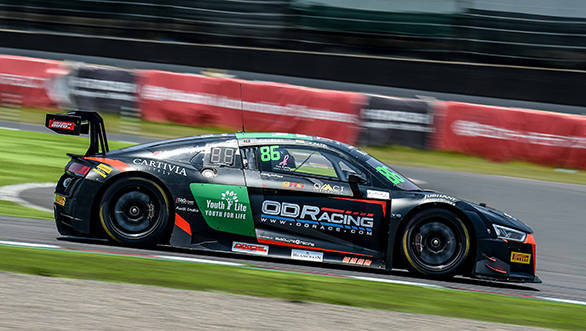 2017 Blancpain GT Series Asia: Patel and Gilbert finish third in Race 1 at Suzuka