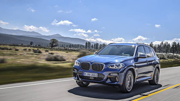 2018 bmw x3 first drive review overdrive. Black Bedroom Furniture Sets. Home Design Ideas