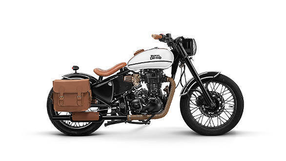 2017 Royal Enfield customs: Custom Classic 500 by Bombay Custom Works