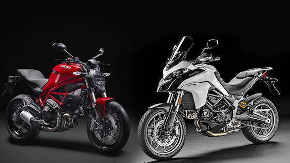 Ducati India to launch the Monster 797 and Multistrada 950 on June 14, 2017