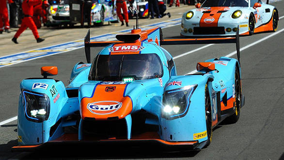 Le Mans 2017: Both Gulf-liveried racing machines perform strongly in first 12 hours