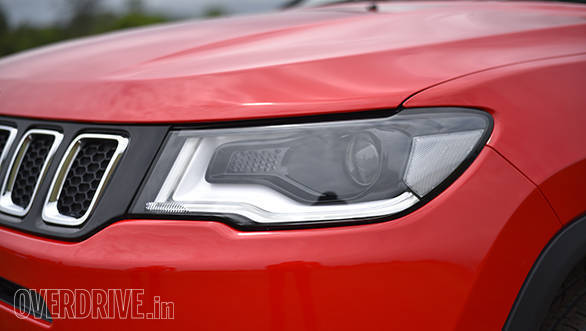 The sleek headlights along with the rest of the front-end have been inspired by Ironman