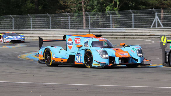 le mans karun chandhok gears up to drive the gulf liveried tockwith motorsport lmp2 machine. Black Bedroom Furniture Sets. Home Design Ideas
