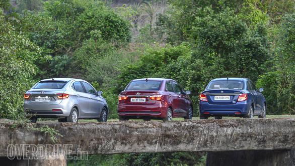 Maruti Suzuki Dzire vs Tata Tigor vs Hyundai Xcent-149
