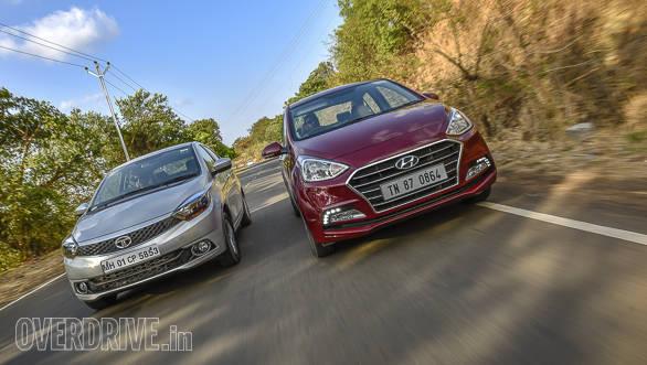 Maruti Suzuki Dzire vs Tata Tigor vs Hyundai Xcent-4