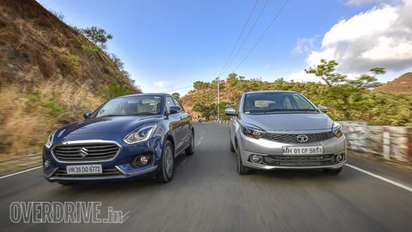 Maruti Suzuki Dzire vs Tata Tigor vs Hyundai Xcent-9