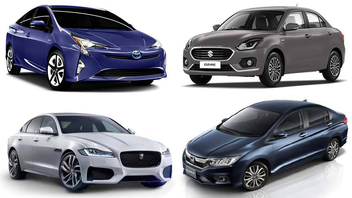 Which is the most fuel-efficient sedan sold in India?