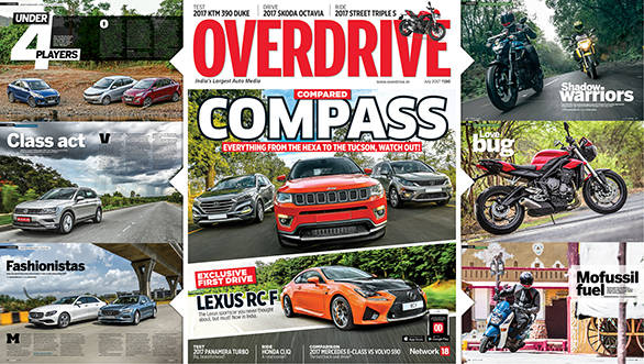 The July 2017 issue of OVERDRIVE is now out on stands!
