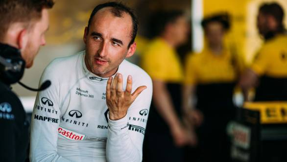 F1: Robert Kubica lands two-day test with Williams