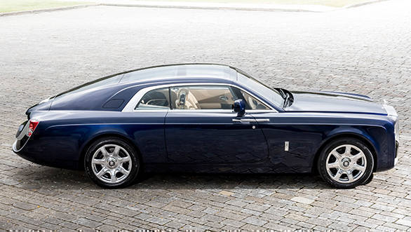 The Sweptail is based on Rolls-Royce's 103EX concept