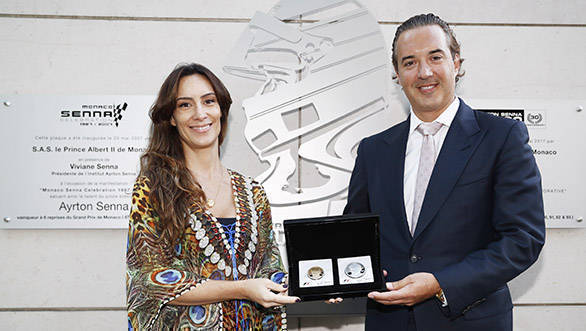 Rosland Capital unveils special Ayrton Senna gold and silver coins