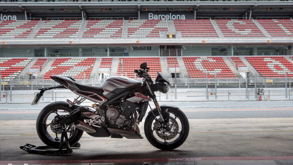 The Street Triple RS is the top spec model in the range