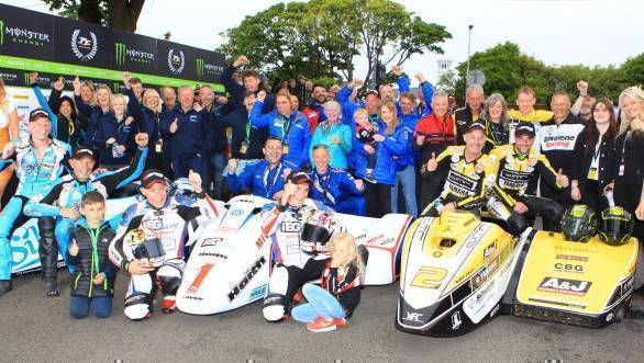 Sure Sidecar TT Race 1 2017 IOMTT
